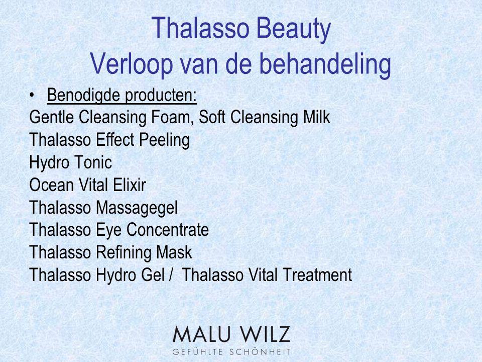 Thalasso Beauty Verloop van de behandeling