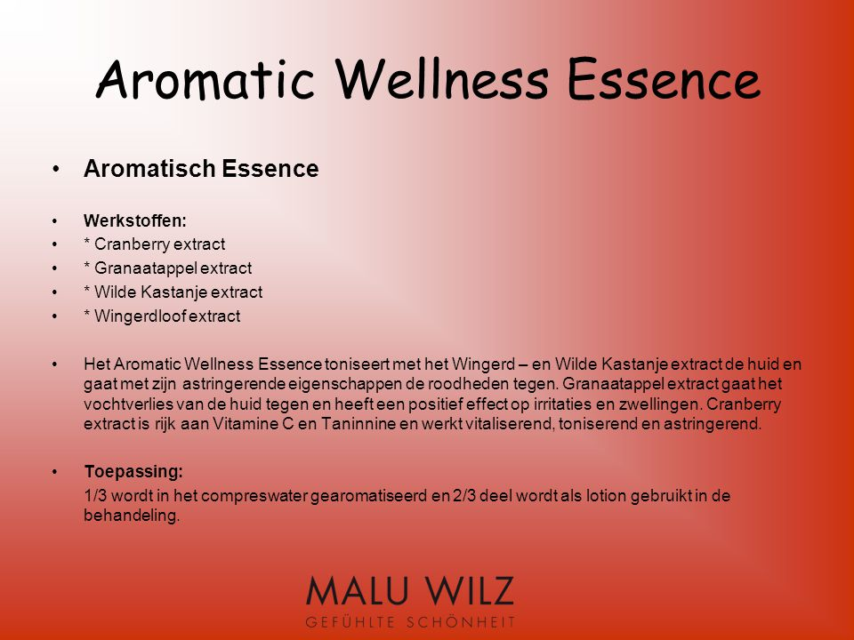 Aromatic Wellness Essence