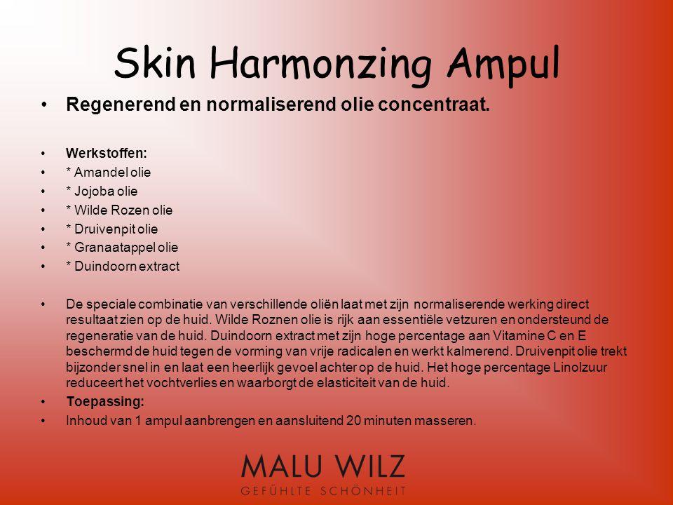 Skin Harmonzing Ampul Regenerend en normaliserend olie concentraat.