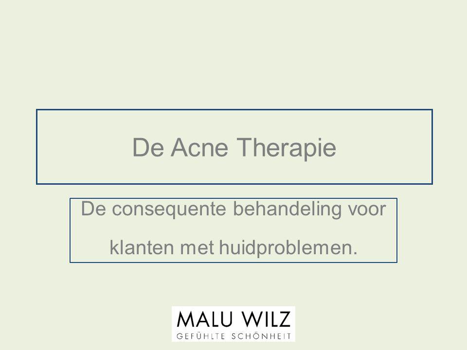 De consequente behandeling voor klanten met huidproblemen.