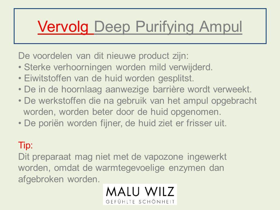 Vervolg Deep Purifying Ampul