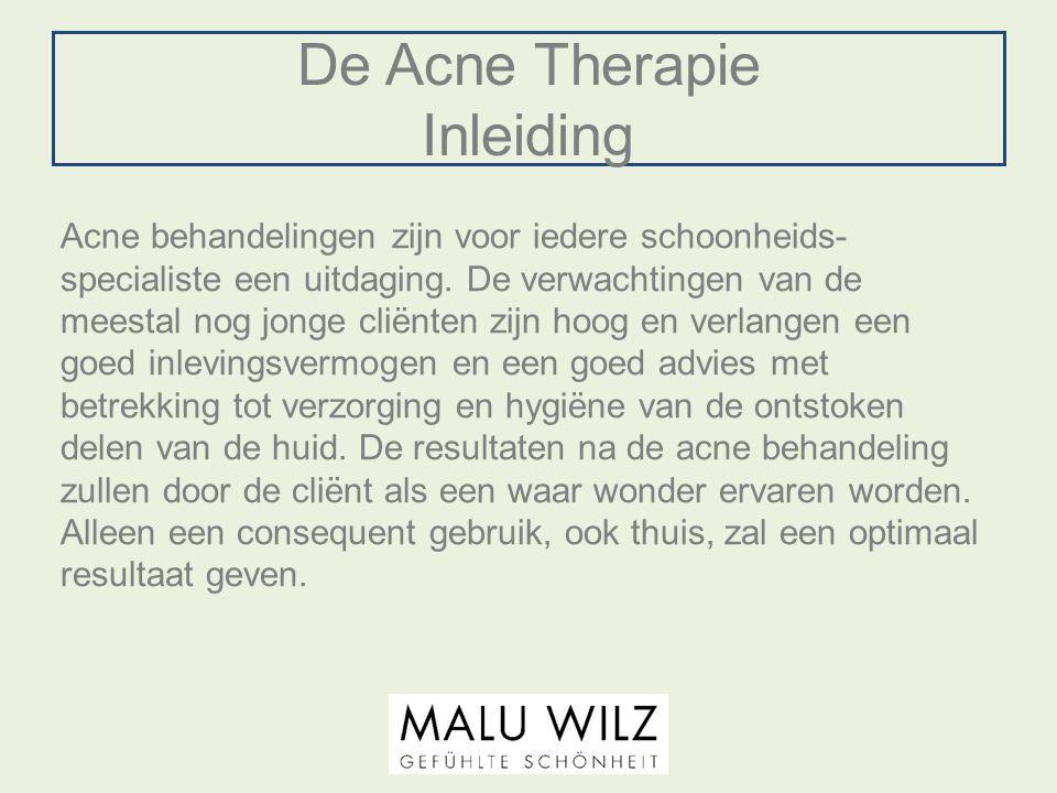De Acne Therapie Inleiding