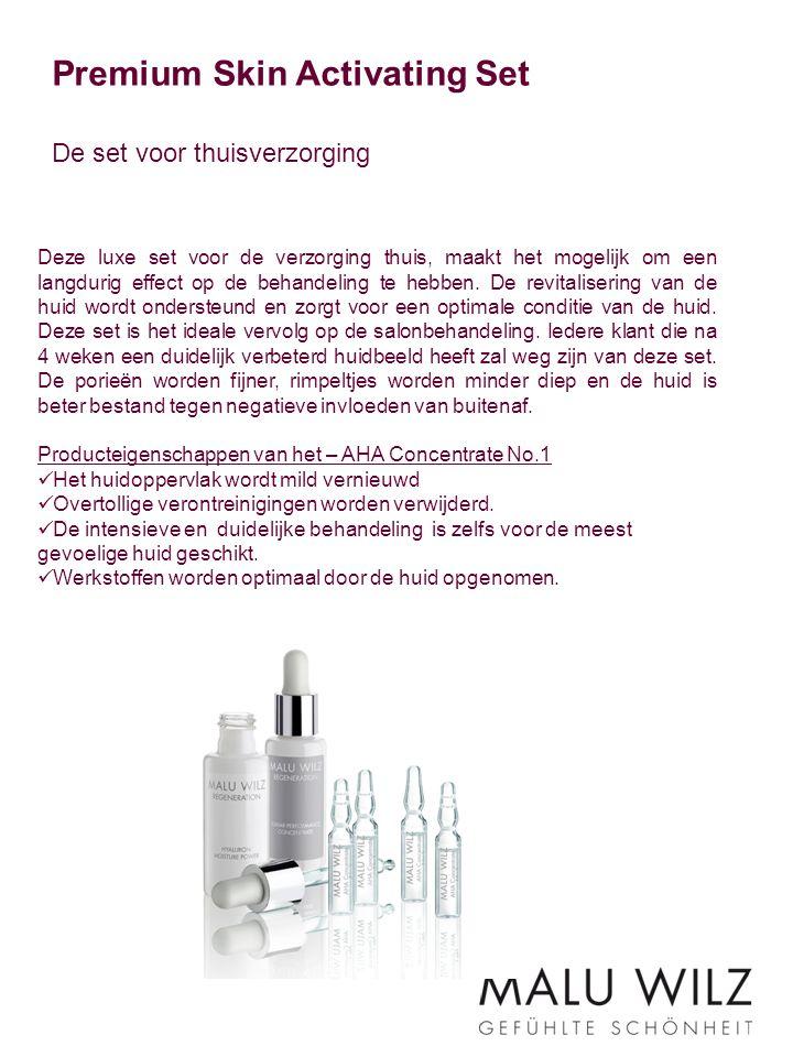 Premium Skin Activating Set De set voor thuisverzorging