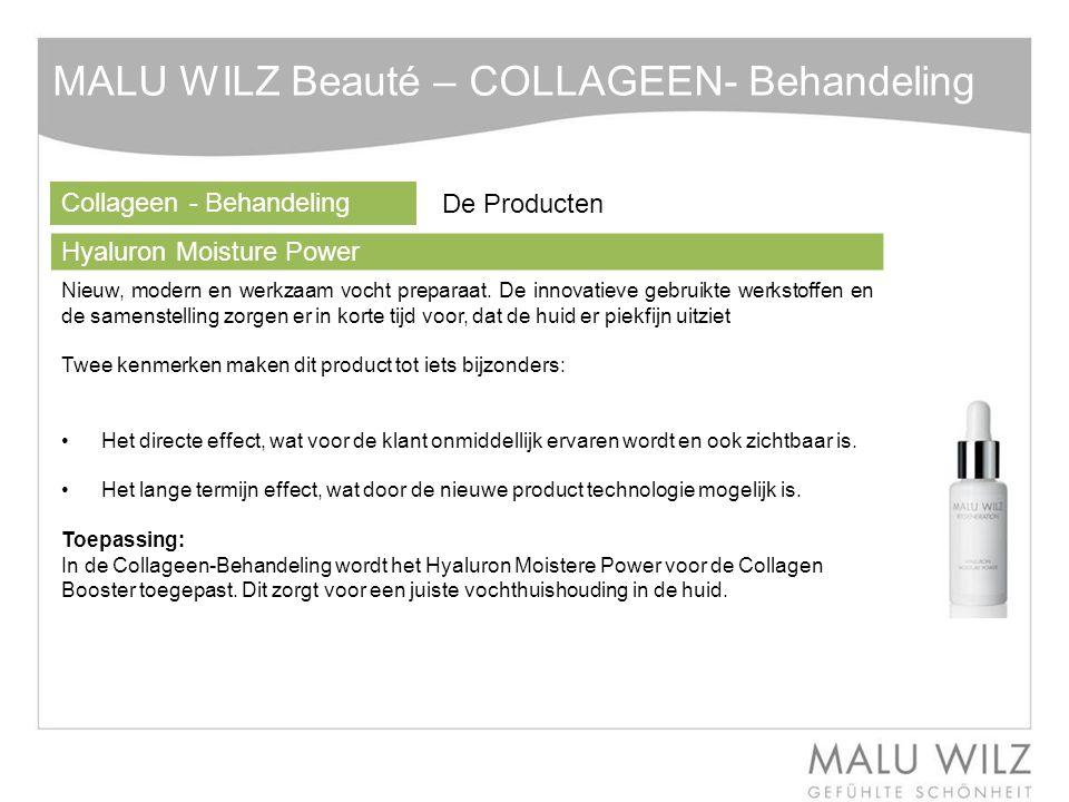 MALU WILZ Beauté – COLLAGEEN- Behandeling