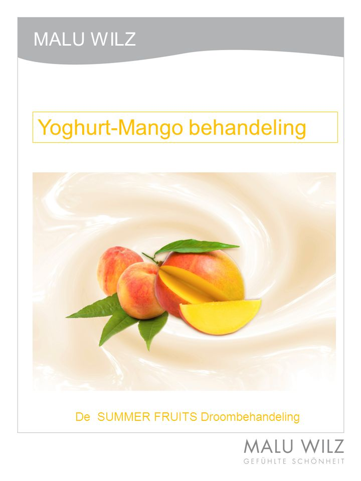 Yoghurt-Mango behandeling