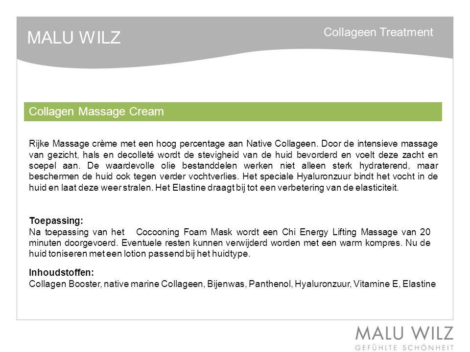 MALU WILZ Collagen Massage Cream