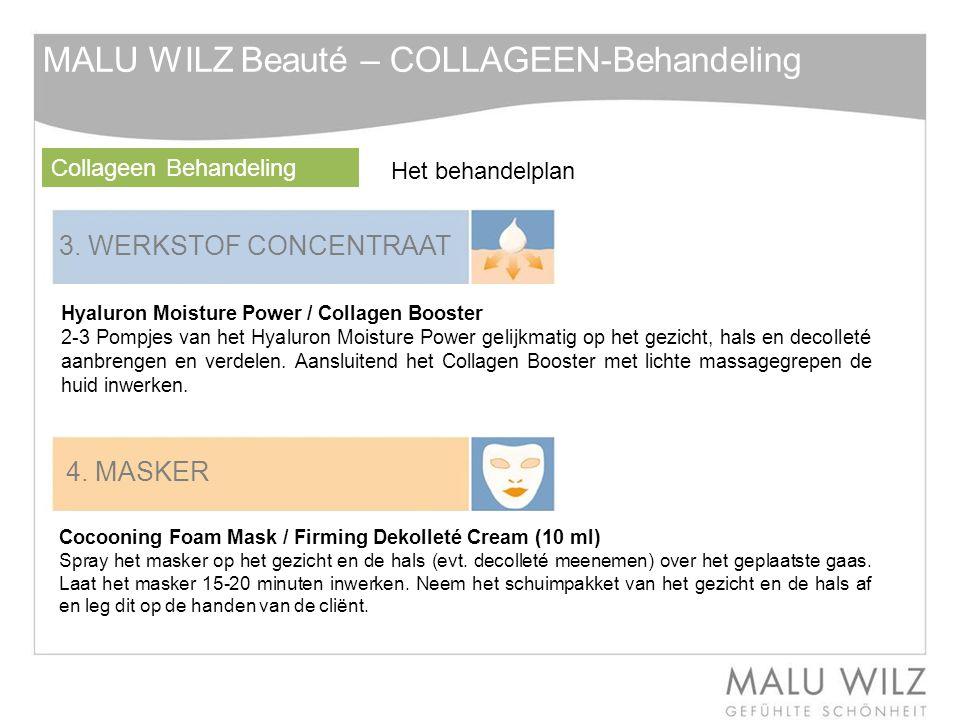 MALU WILZ Beauté – COLLAGEEN-Behandeling
