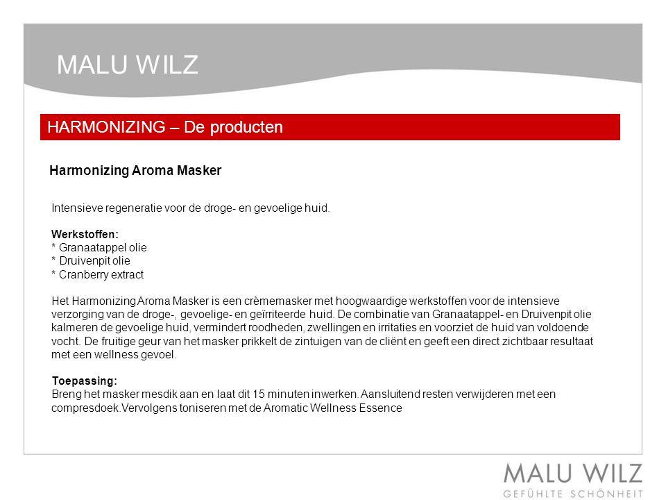 MALU WILZ HARMONIZING – De producten Harmonizing Aroma Masker