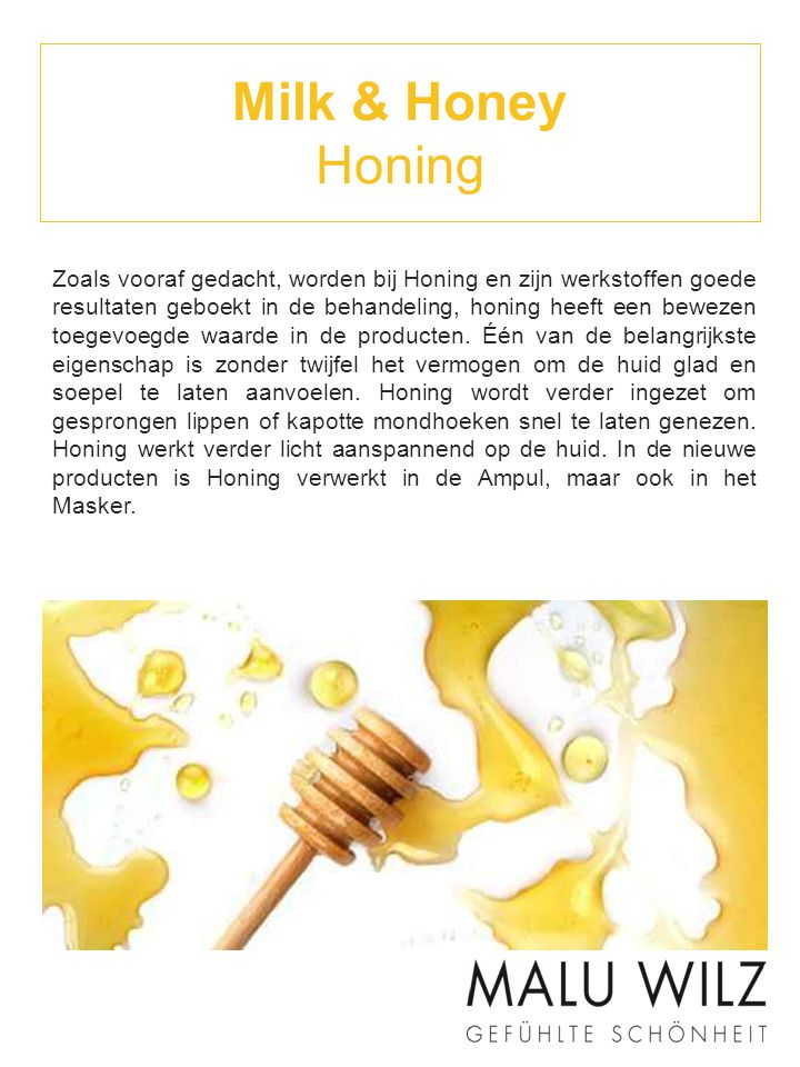 Milk & Honey Honing