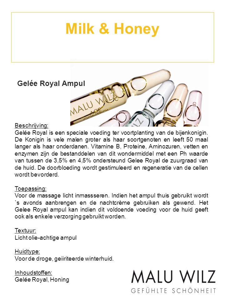 Milk & Honey Gelée Royal Ampul Beschrijving: