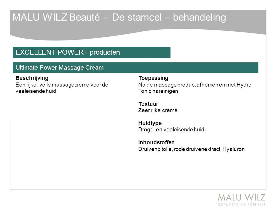 MALU WILZ Beauté – De stamcel – behandeling