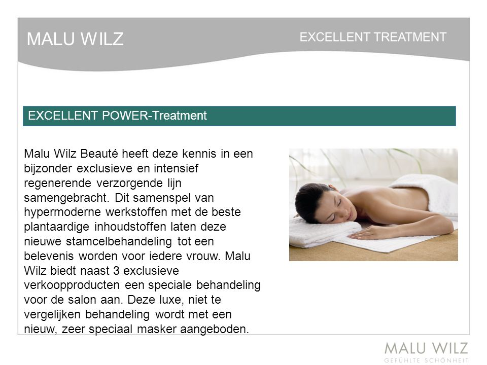 MALU WILZ EXCELLENT POWER-Treatment