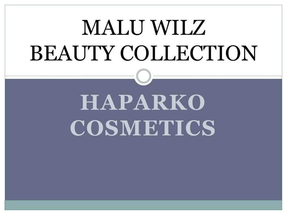 MALU WILZ BEAUTY COLLECTION