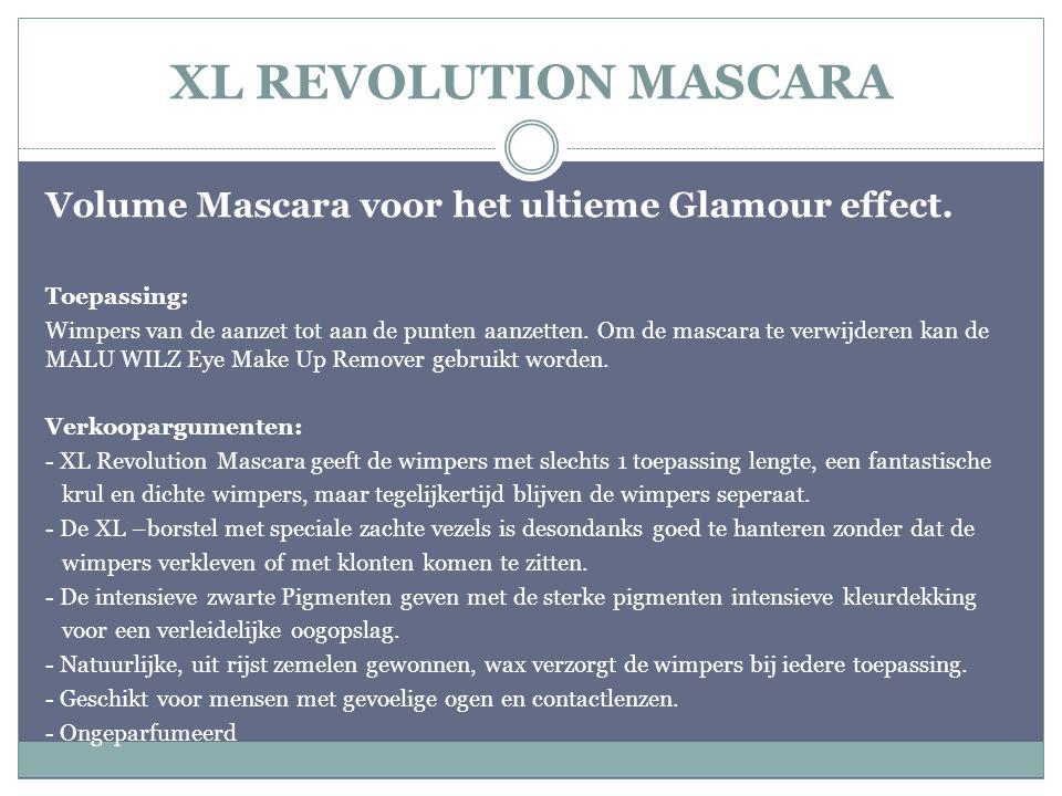 XL REVOLUTION MASCARA Volume Mascara voor het ultieme Glamour effect.