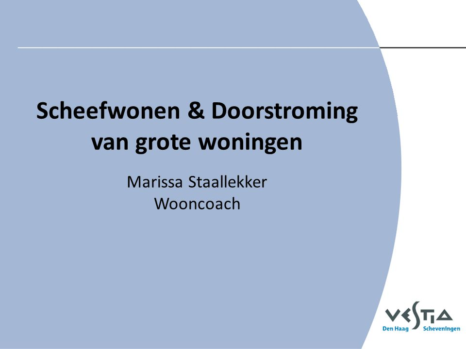 Scheefwonen & Doorstroming
