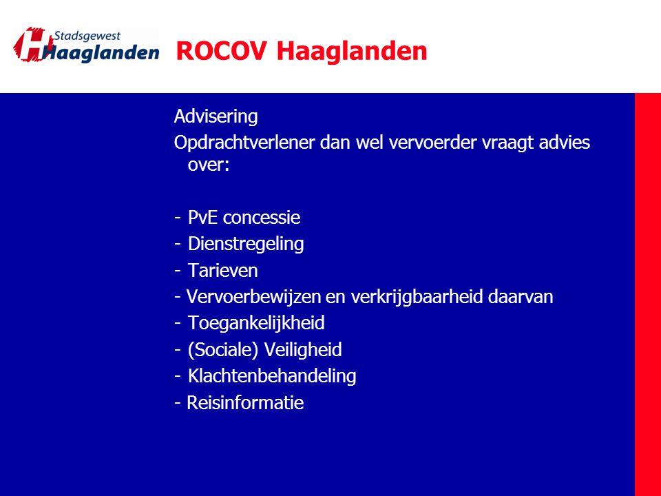 ROCOV Haaglanden Advisering
