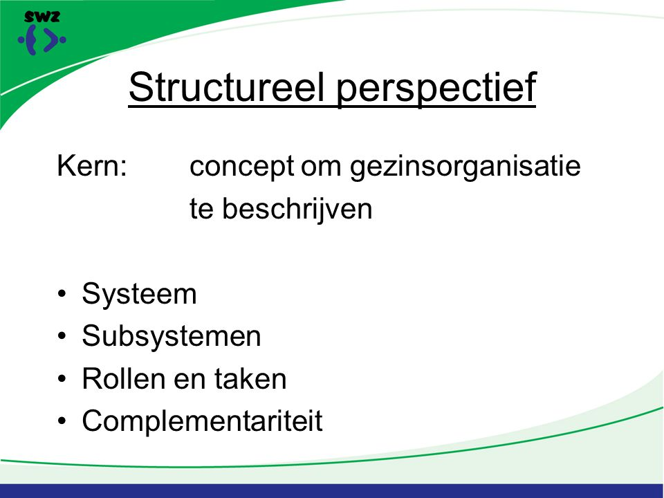 Structureel perspectief