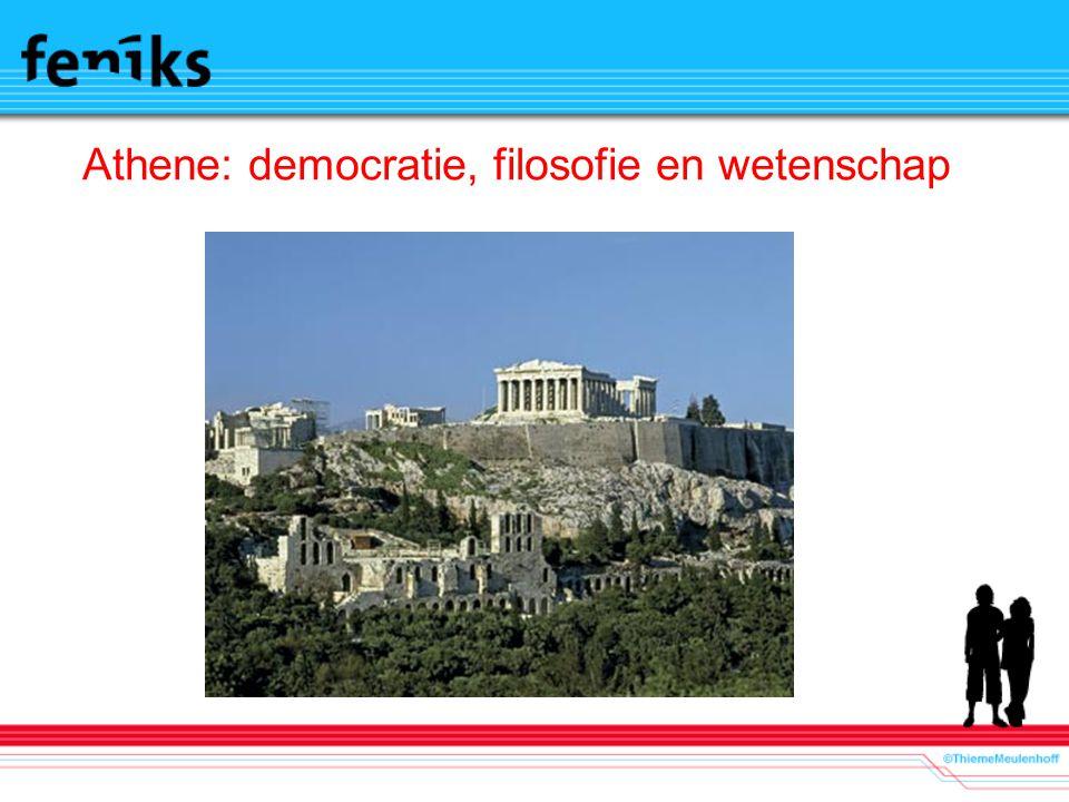 Athene: democratie, filosofie en wetenschap