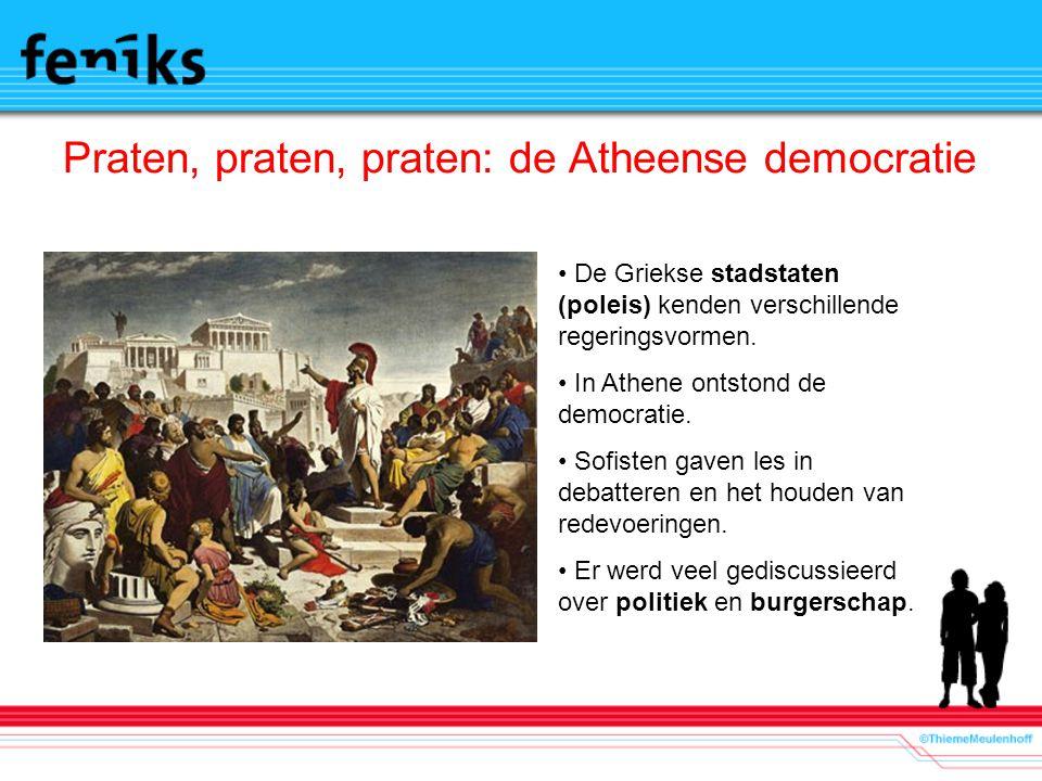 Praten, praten, praten: de Atheense democratie