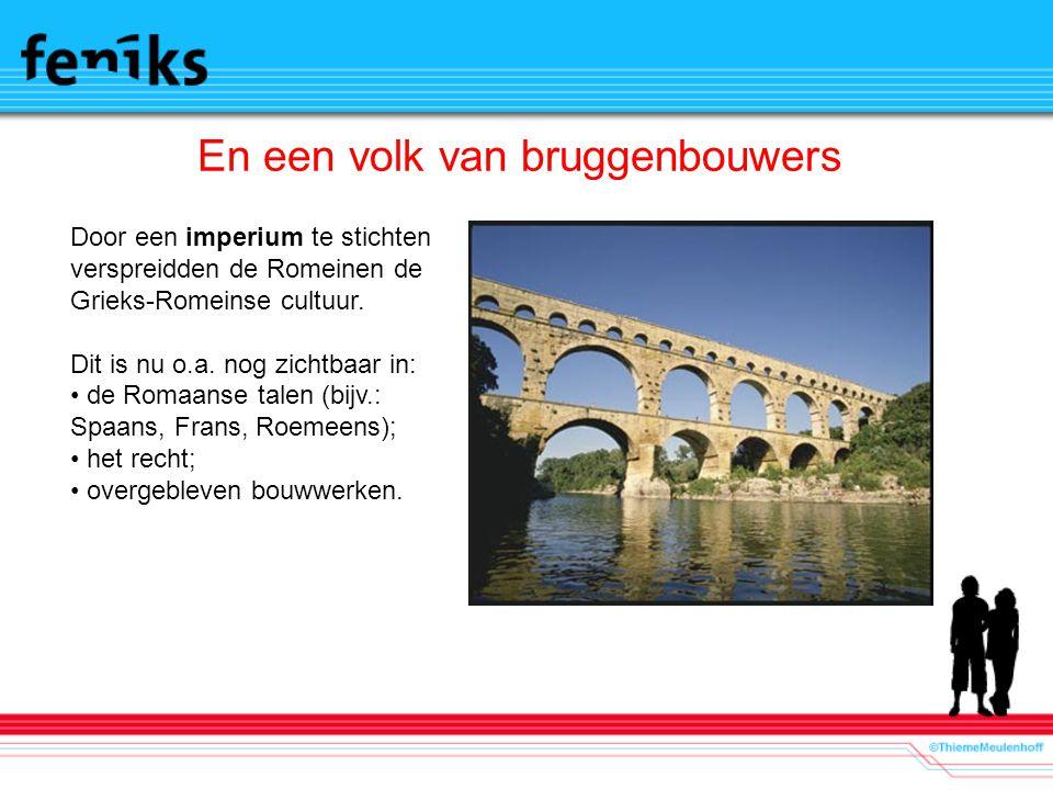 En een volk van bruggenbouwers
