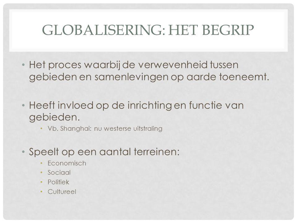 Globalisering: het begrip