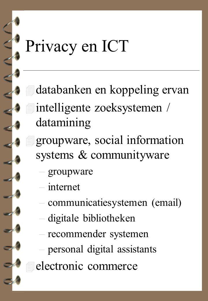 Privacy en ICT databanken en koppeling ervan