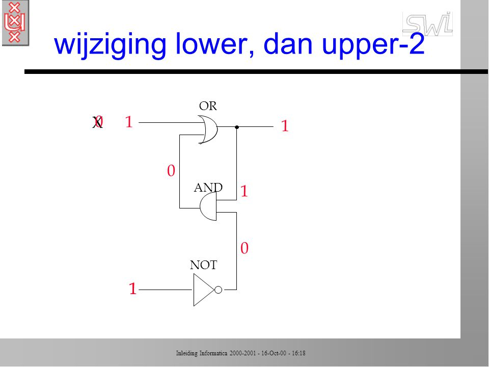 wijziging lower, dan upper-2