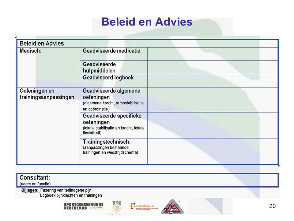 Beleid en Advies