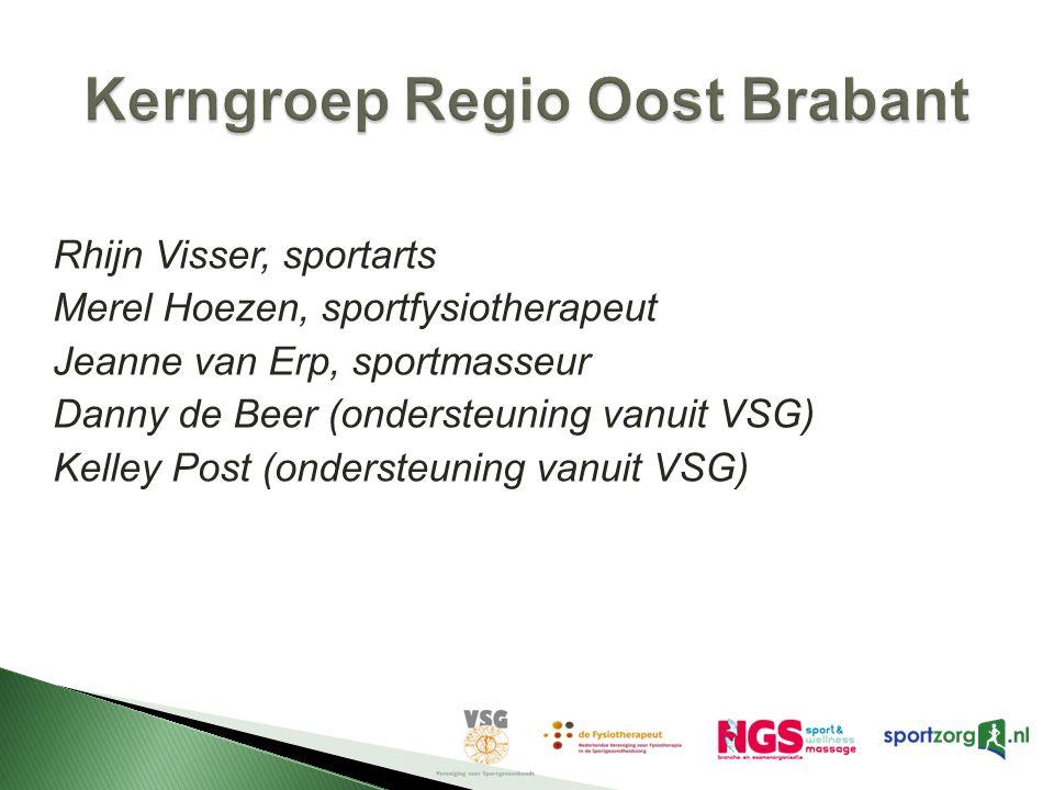 Kerngroep Regio Oost Brabant