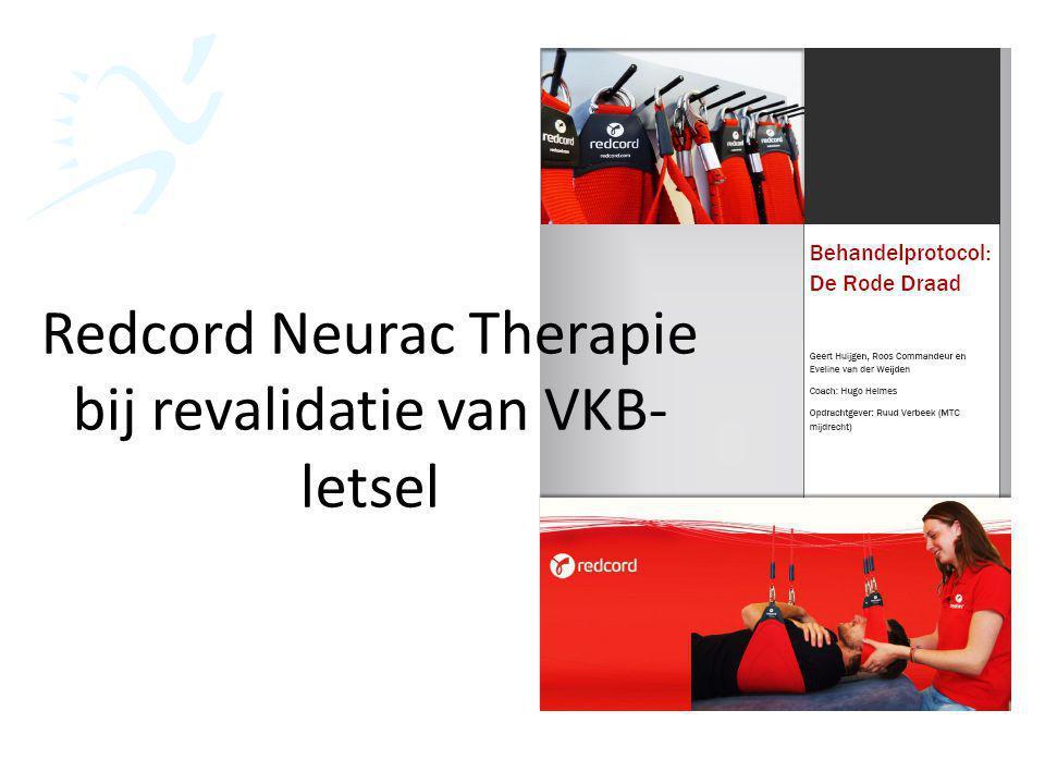 Redcord Neurac Therapie bij revalidatie van VKB-letsel
