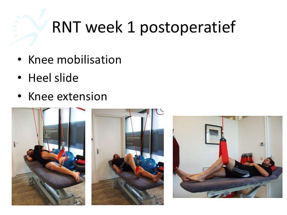 RNT week 1 postoperatief
