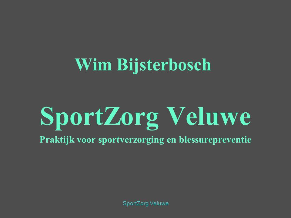 SportZorg Veluwe Praktijk voor sportverzorging en blessurepreventie