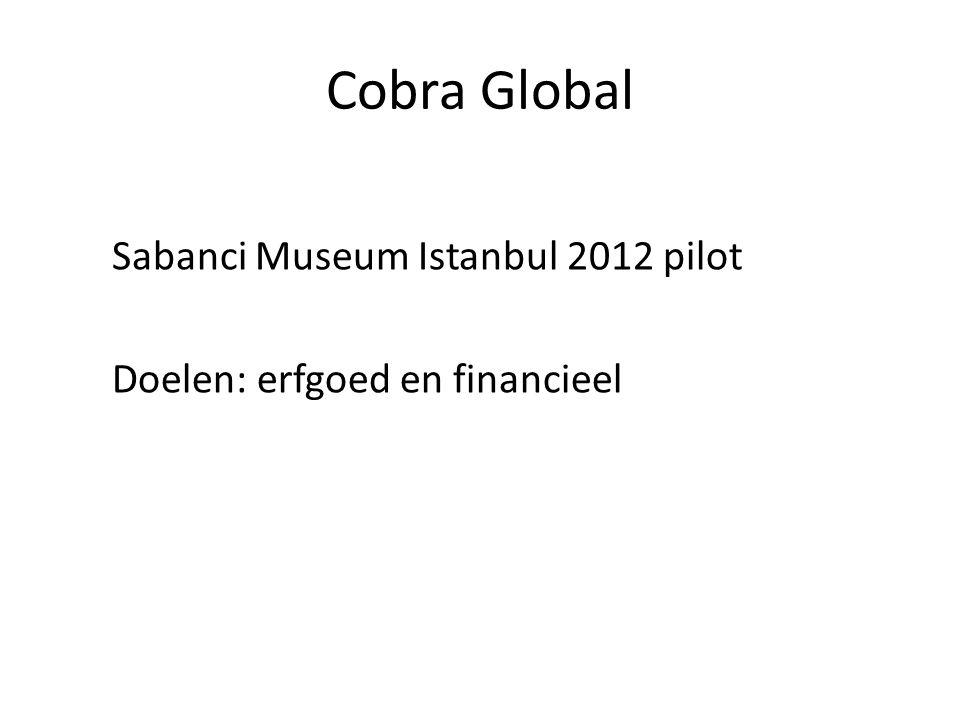 Cobra Global Sabanci Museum Istanbul 2012 pilot