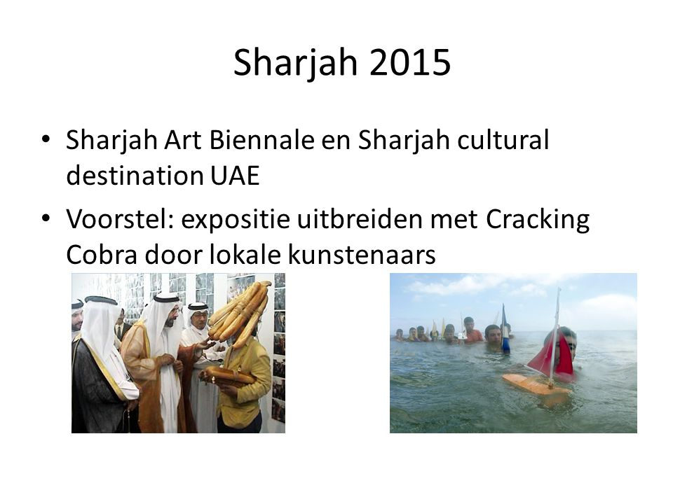 Sharjah 2015 Sharjah Art Biennale en Sharjah cultural destination UAE