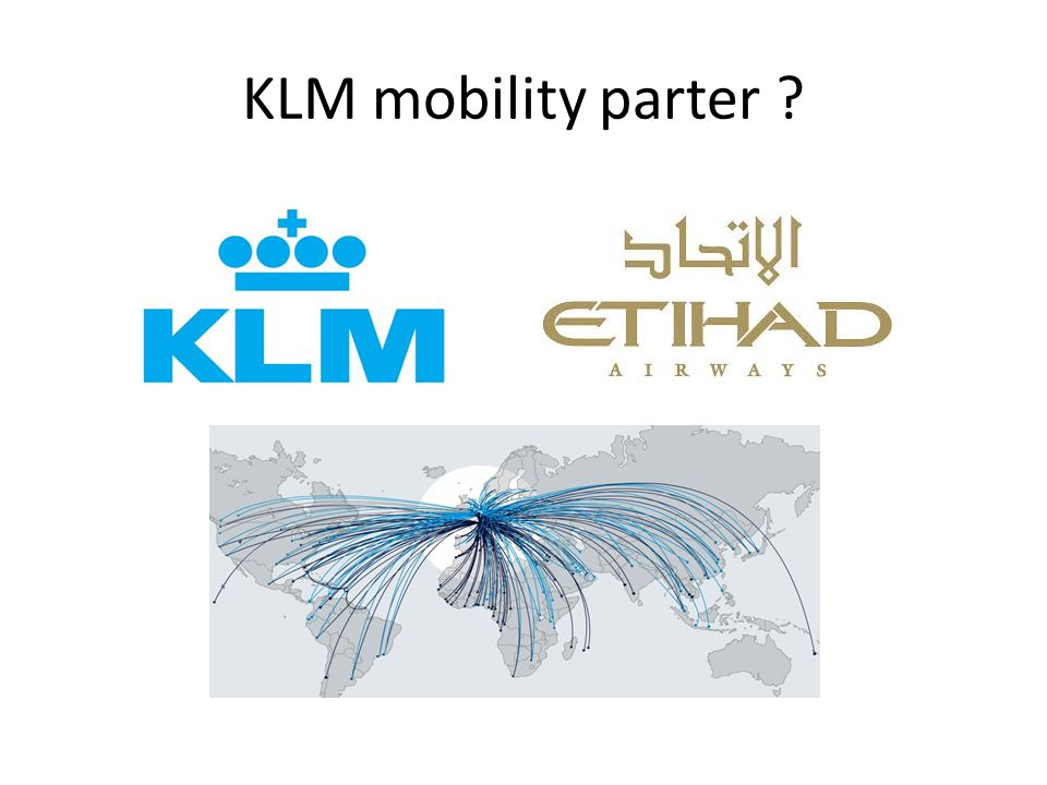 KLM mobility parter