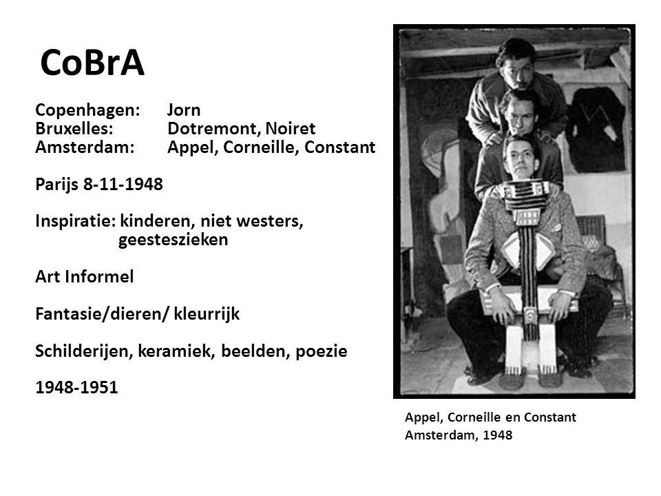 CoBrA Copenhagen: Jorn Bruxelles: Dotremont, Noiret