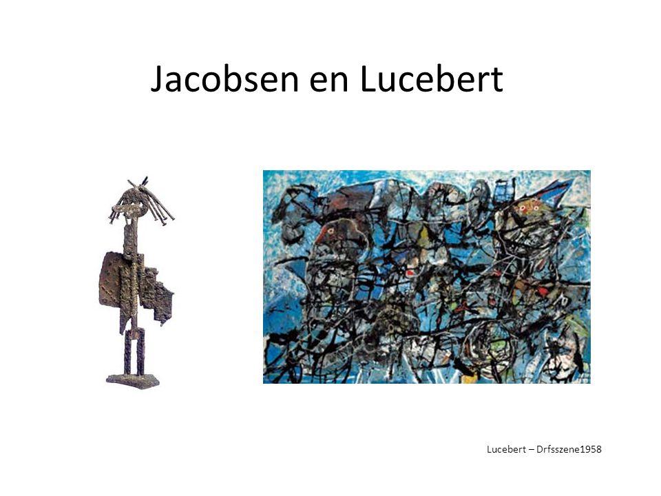 Jacobsen en Lucebert Lucebert – Drfsszene1958