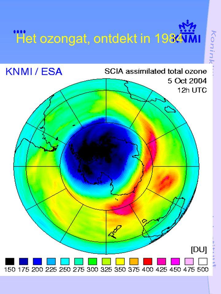 Het ozongat, ontdekt in 1984