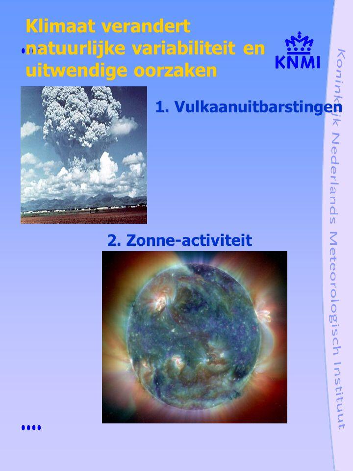 natuurlijke variabiliteit en uitwendige oorzaken