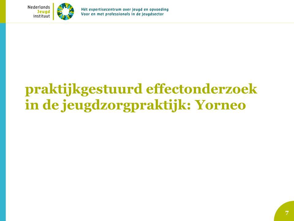 praktijkgestuurd effectonderzoek in de jeugdzorgpraktijk: Yorneo