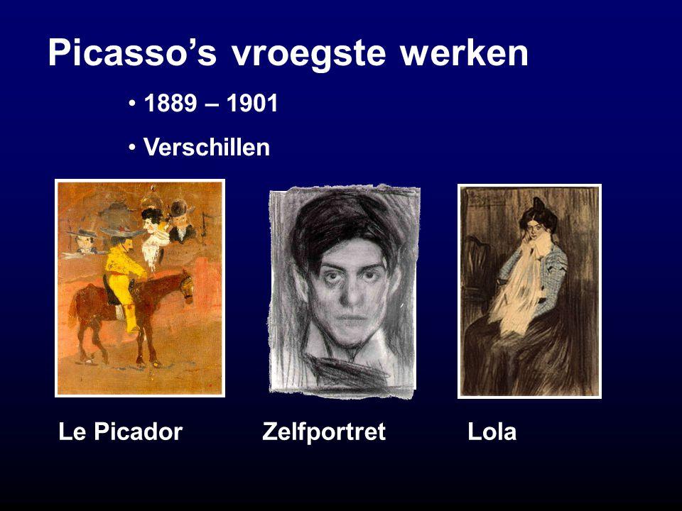 Picasso's vroegste werken