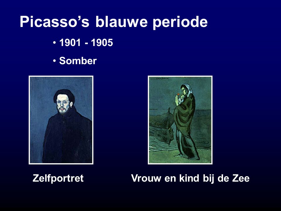 Picasso's blauwe periode