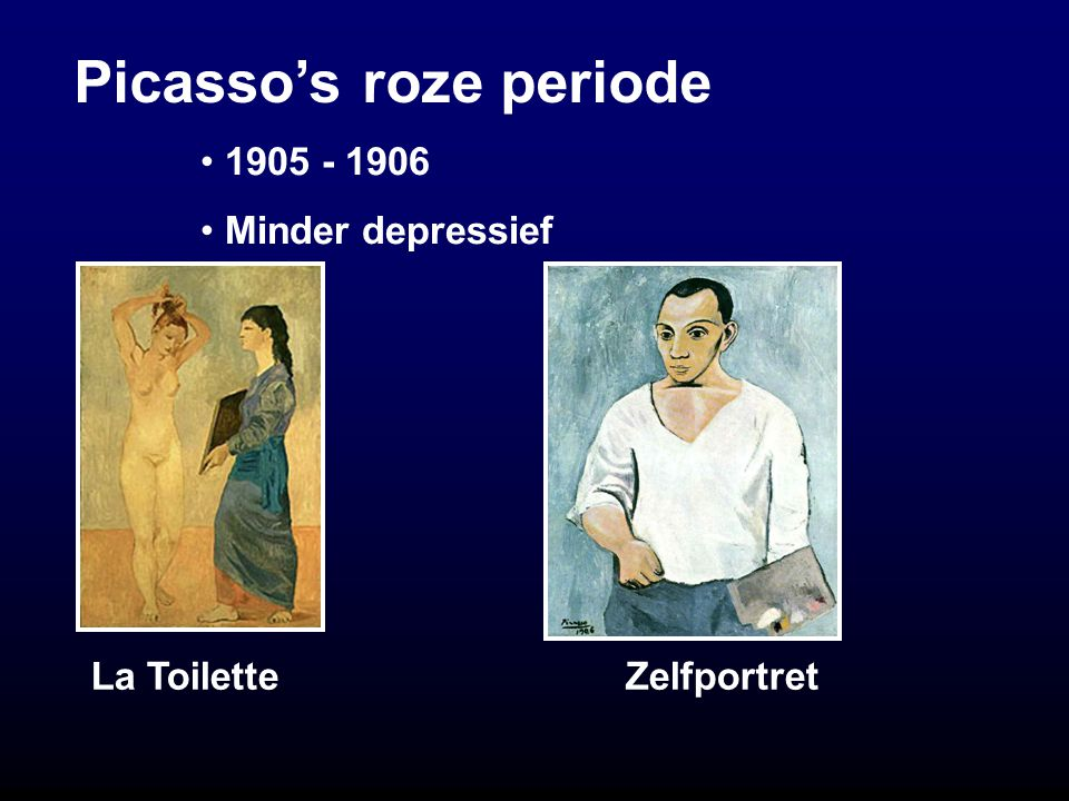 Picasso's roze periode