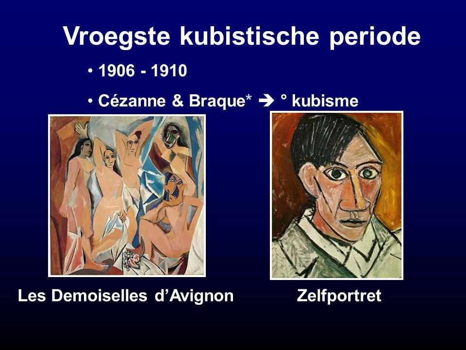 Vroegste kubistische periode