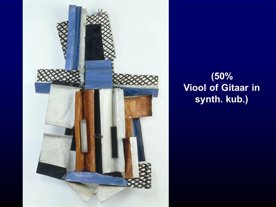 (50% Viool of Gitaar in synth. kub.)