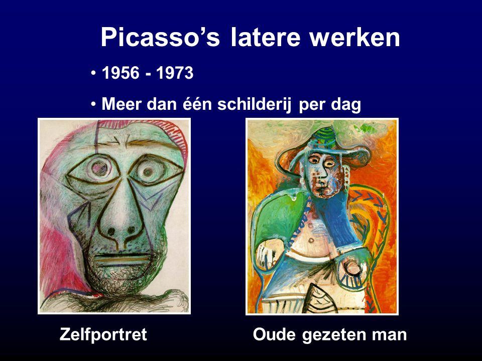 Picasso's latere werken