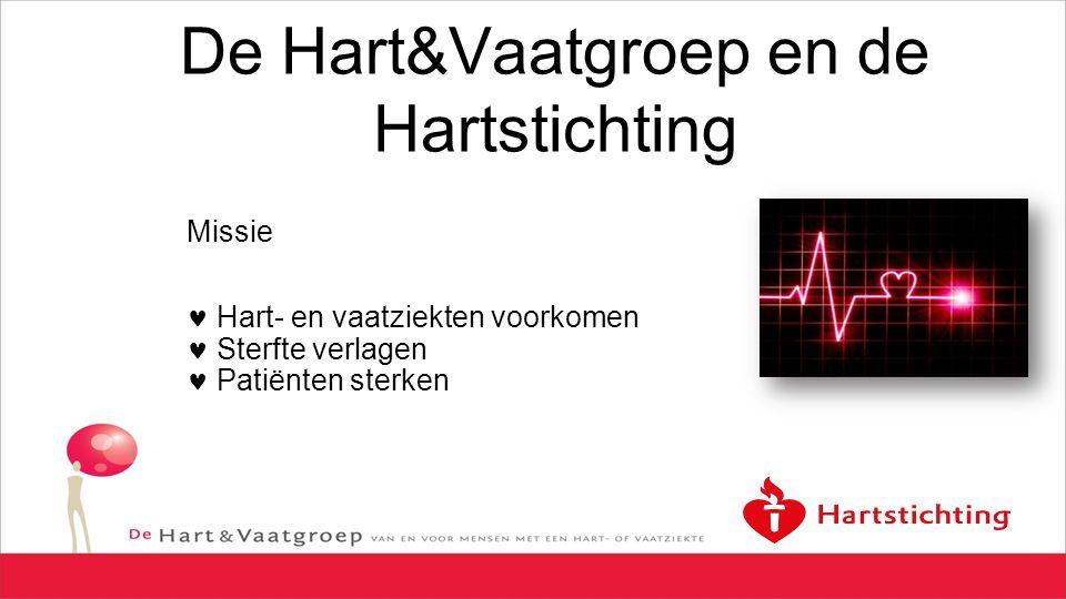 De Hart&Vaatgroep en de Hartstichting