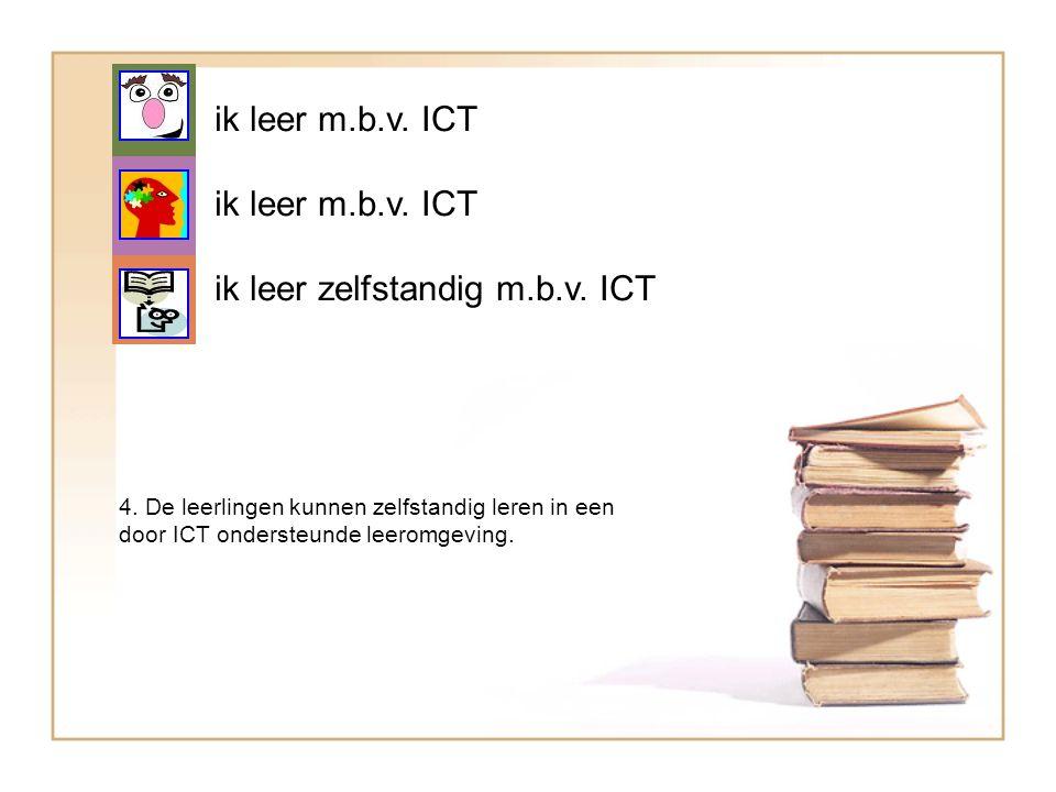 ik leer zelfstandig m.b.v. ICT