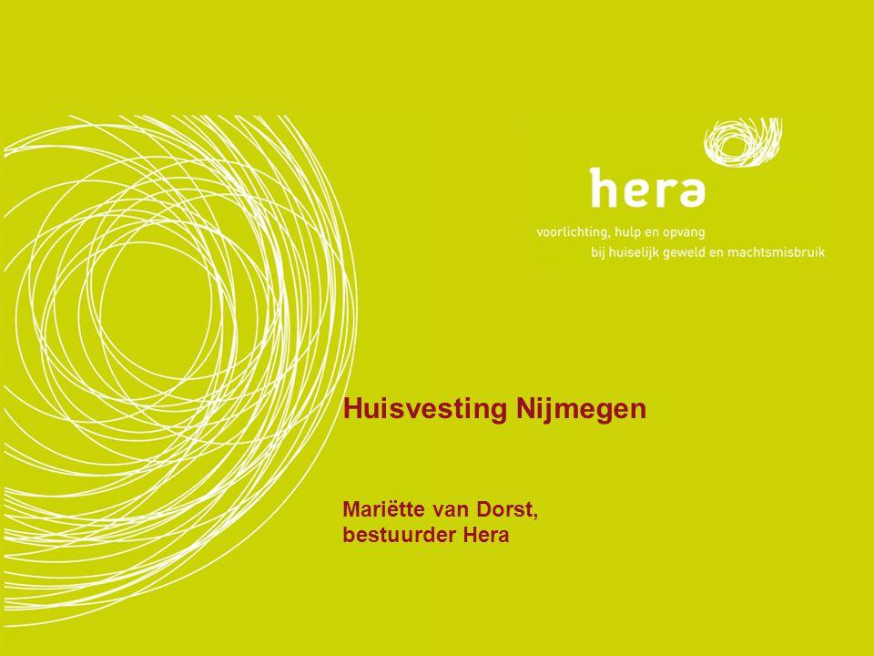 Huisvesting Nijmegen Mariëtte van Dorst, bestuurder Hera