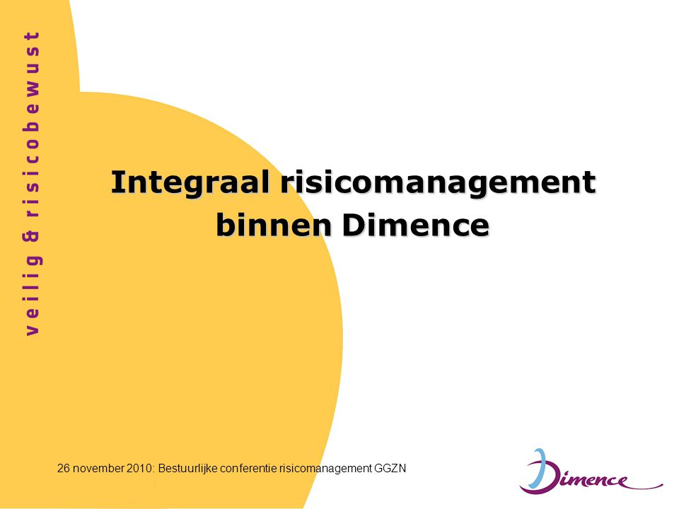 Integraal risicomanagement